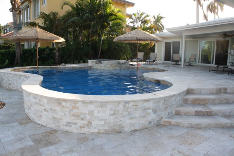 pool renovation; patios and pools driveways services