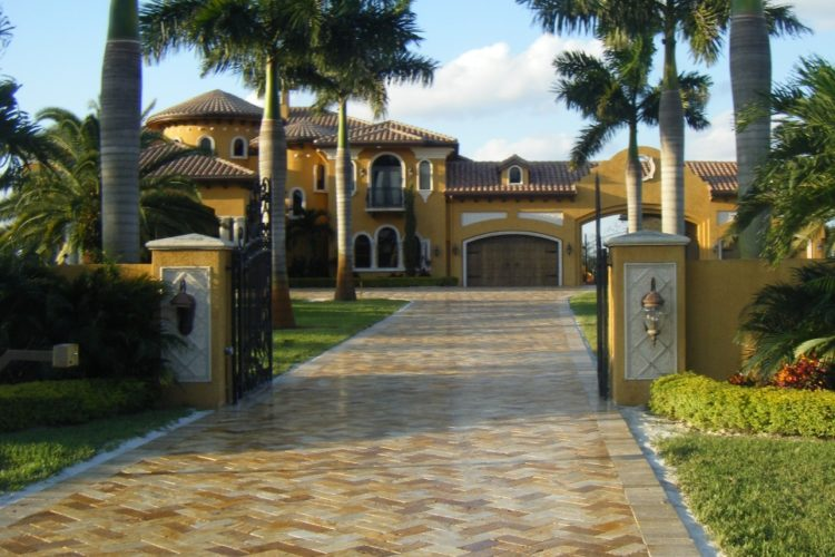 travertine; patios and pools services
