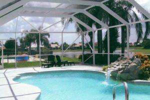 screen enclosures; patios and pools driveways